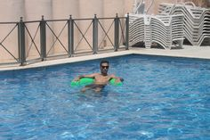 When the weather is hot there is nothing better then a cooldown in the pool.