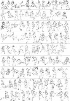 Gesture studies: 93