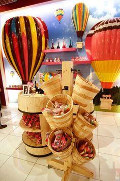 STICKY CANDY at Taman Anggrek Mall, Jakarta ヽ(^。^)ノ fun and sweet