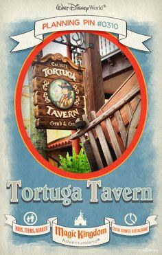 Walt Disney World Planning Pins: Tortuga Tavern
