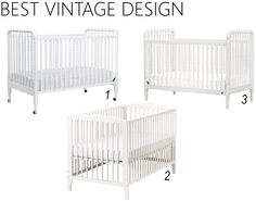 iron u0026 twine white baby cribs