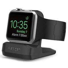 Product Category: Holders Product Description: Spigen's S350 Night Stand for the Apple Watch is made entirely of scratch-free TPU for minimal aesthetics packed with smart functionality. It features...