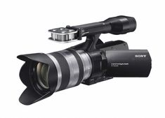 Sony Camcorder - Black (Kit w/ Sony OSS lens) for sale online Sony Camera, Video Camera, Photography Reviews, Digital Photography, Learning Logo, Full Hd Video, Cmos Sensor, Home Movies, Camcorder