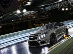 This car was made for a hvtm contest too. It's converted form a Challenger: I reached the first place, and I will get the Challenger model) soon Chevy Cruze Custom, 2017 Chevy Cruze, Chevrolet Cruze, Jeep Mods, Custom Cars, Cars And Motorcycles, Race Cars, Mustang, Automobile