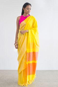 Sunflower Saree from FashionMarket.lk