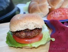 Grilled Beef and Pork Burgers Beef And Pork Burgers, Hamburger Steak Recipes, Hamburger Steaks, Pork Recipes, Making Burger Patties, Cottage Cheese Salad, Grilled Beef, Macaroni Salad