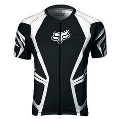 Fox Racing 2014 Livewire Race s//s Jersey Black//White