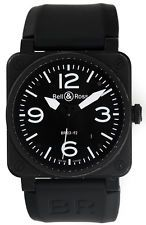 Bell & Ross Aviation Black PVD Automatic Men's Watch BR03-92-S-21902