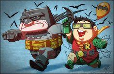 UP x Batman