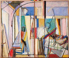 "terminusantequem: ""Alfonso Albacete (Spanish, En el estudio [In the studio], Oil on canvas, x 228 cm "" Spanish Painters, Cecile, Art Studios, Hobbit, Oil On Canvas, Book Art, Madrid, Abstract Art, Museum"