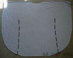 O remendo de Artesanato: Circle Shirt Tutorial