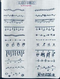 Image result for bullet journal doodles