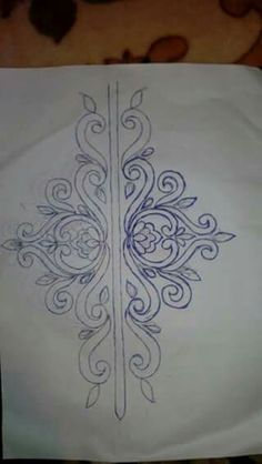 Irresistible Embroidery Patterns, Designs and Ideas. Awe Inspiring Irresistible Embroidery Patterns, Designs and Ideas. Border Embroidery Designs, Bead Embroidery Patterns, Beading Patterns, Embroidery Stitches, Machine Embroidery, Tambour Beading, Tambour Embroidery, Motifs Perler, Fabric Painting