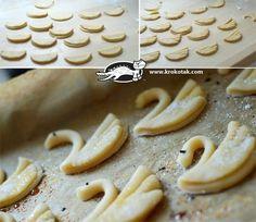 How to Make Swan Shaped Cookie | www.FabArtDIY.com LIKE Us on Facebook ==> https://www.facebook.com/FabArtDIY