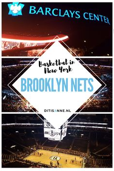Brooklyn Nets: Beleef een toffe sportwedstrijd in New York! Us Travel, Travel Tips, Barclays Center, New York, Brooklyn Nets, North America, United States, Canada, World