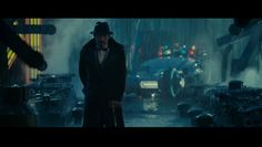 set design in Blade Runner