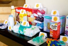 BABY SHOWER GAMES -The Price is Right - Baby Edition, Have each guest guess the $$$ amount for each item.. whoever is the closest wins a prize... by lucile