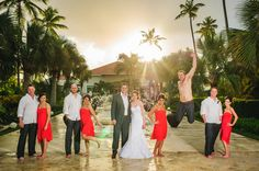 Destination Wedding at Now Larimar Resort, Punta Cana by Applehead Studio Photography - Full Post: http://www.brideswithoutborders.com/inspiration/week-long-destination-wedding-in-the-dominican-republic-by-applehead-studio
