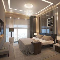 Veja as mais belas referências de lustres para quartos de casais em diferentes projetos. Inspire-se com estas ideias.