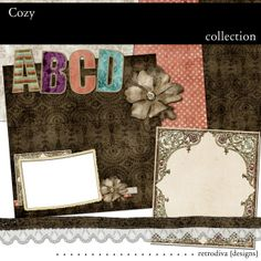 Cozy - Digital Scrapbooking Freebie