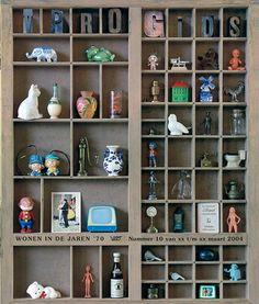 la col.lecció de miniatures