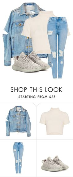 """""""Untitled #3604"""" by mfr-mtz ❤ liked on Polyvore featuring Staud and adidas Originals"""