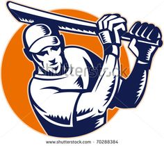 Buy Cricket Player Batsman Batting Retro Style by patrimonio on GraphicRiver. Vector illustration of a cricket batsman batting done in retro woodcut style. Cricket Logo, Typography Alphabet, Graphic Illustration, Retro Illustrations, Print Fonts, Freelance Illustrator, Monogram Logo, Vector Graphics, Vector Design