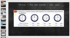 Óra, perc - Az idő mérése - Matek 3. osztály VIDEÓ - Kalauzoló - Online tanulás