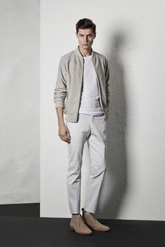 Awesome summer monochromatic look from Reiss