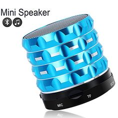 Foolly Portable Bluetooth Speakers Outdoor Sports Handsfree for Camping Hiking Cycling - Blue Outdoor Speakers, Bluetooth Speakers, Audio, Sports, Cycling, Hiking, Amazon, Hs Sports, Walks