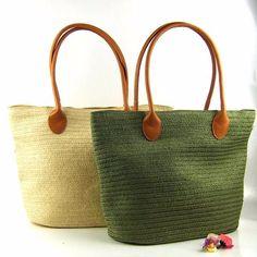 2016 Large Capacity Women Straw Bag Ladies Straw Weaving Summer Beach Bag Handmade Handbag Weave Shoulder Bag Travel Casual Tote