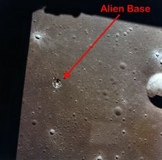 UFO SIGHTINGS DAILY: Alien Base Discovered On Moons Surface In Old NASA photo, Amazing Detail.