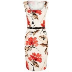 Precis Petite Modern Floral Dress found on Polyvore