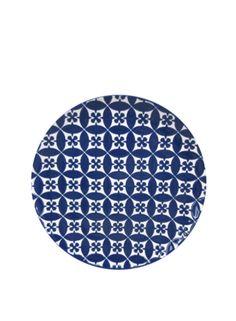 A Loja do Gato Preto | Prato de Sobremesa Azulejo Azul #alojadogatopreto