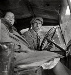 """February 1936. """"Once a Missouri farmer, now a migratory farm laborer on the Pacific Coast, California."""" A possible prequel to The Grapes of Wrath. Photo by Dorothea Lange for the Farm Security Administration."""