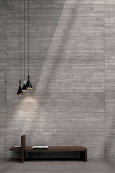 Porcelain stoneware wall/floor tiles with concrete effect CEMENT PROJECT by COTTO D'ESTE