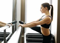 Add this at-home workout into your weekly fitness routine to see a lifted, toned butt in no time! This barre workout will sculpt and tighten your glutes like never before. Feel the burn with these butt exercises.