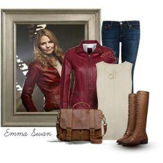 I love emma swan outfits