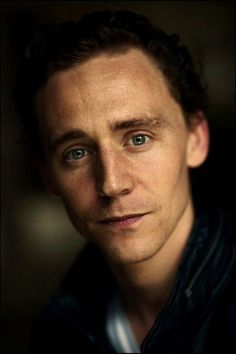 Tom Hiddleston is amazing and handsome in this photo.