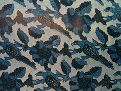 Resist printed fabric from Met Museum of Art