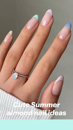 French Acrylic Nails, Acrylic Nails Coffin Short, Simple Acrylic Nails, Almond Acrylic Nails, Best Acrylic Nails, Acrylic Nails Designs Short, Almond Nails French, Best Nails, French Tip Nails