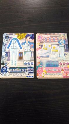 "Trading card of Japanese Idol Animation ""AIKATSU"" Starlight school coord 201"