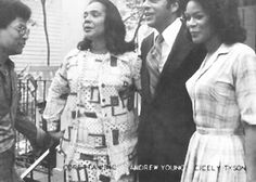 Coretta Scott King, Andy Young, Cicely Tyson