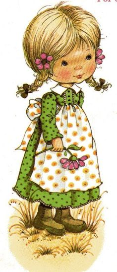 Татьяна Иванова Love Painting, Painting For Kids, Fabric Painting, Vintage Halloween Cards, Sarah Key, Holly Hobbie, Illustrations, Cute Illustration, Vintage Children