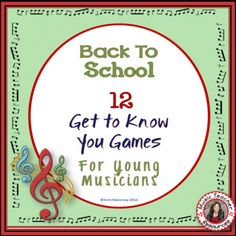 Back to School Ice Breakers for Music Classes ♫ This is a PDF file containing TWELVE Ice Breaker activities for young musicians! There are: ♫ SIX Music and Me activities and; ♫ SIX Find Someone Who.... activities. ♫ Uses both North American and British terminology! ♫ Designed to suit a range of Grade levels 5 - 9 ♫ A wonderful way to get students interacting with each other