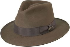18006d285f6 INDIANA JONES Indiana Jones Wool Felt Safari Hat Indiana Jones Fedora