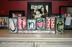 Next 2 Nothing Crafts: Jingle all the way...(tutorial)