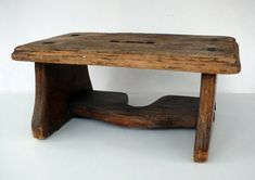 Benches & Stools 1900-1950 Strict Antique Old Primitive Wood Wooden Painted Black Top Spool Foot Footstool Stool To Assure Years Of Trouble-Free Service