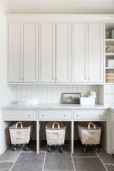 Custom Home Builders, Custom Homes, Laundry Room Inspiration, Laundry Room Design, Laundry Rooms, Laundry Baskets, Small Laundry, Basement Laundry, Laundry Closet