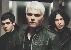 Mikey, Gerard and Ray